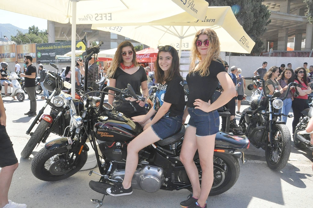 Motor festivali karnavalı aratmadı 11