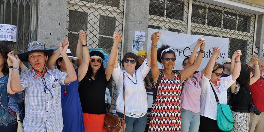 Kıbrıs'ın ortak geleceği için el ele