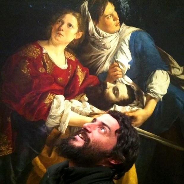 İkiziniz bir sanat müzesinde olabilir 10