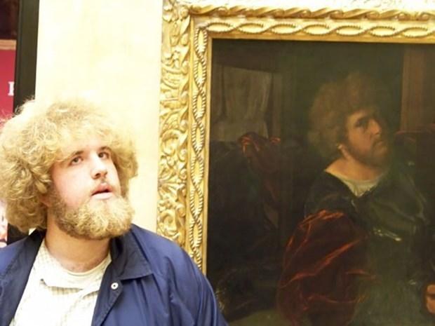 İkiziniz bir sanat müzesinde olabilir 6