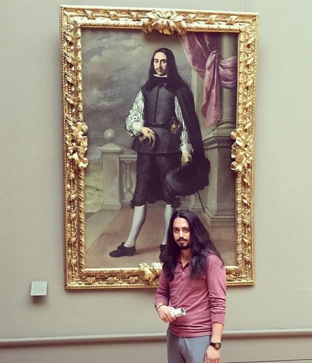 İkiziniz bir sanat müzesinde olabilir 7