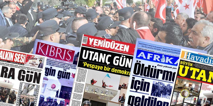 Demokrasi ayıbı medyaya nasıl yansıdı?