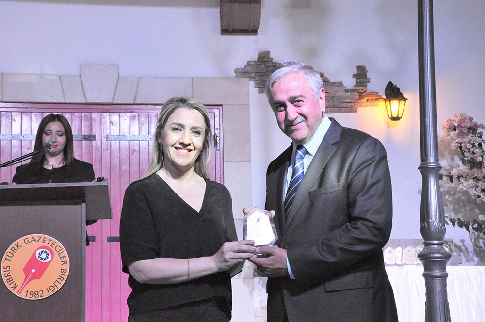 Basın Teşvik Ödülleri verildi 2