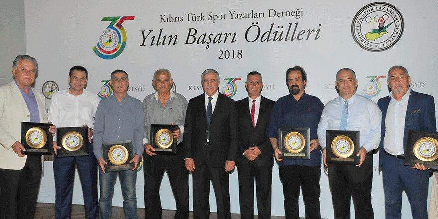 KTSYD Yılın Başarılıları Ödül Töreni yapıldı