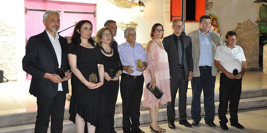 Meslek Onur Ödülleri verildi