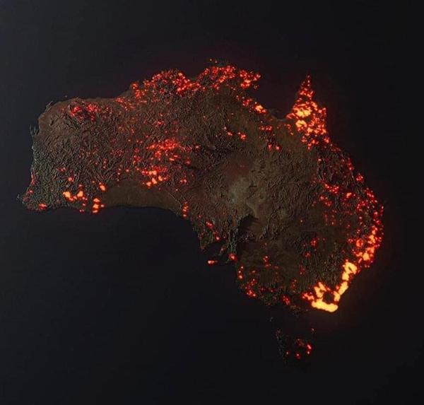 Bir kıta yanıyor! 1