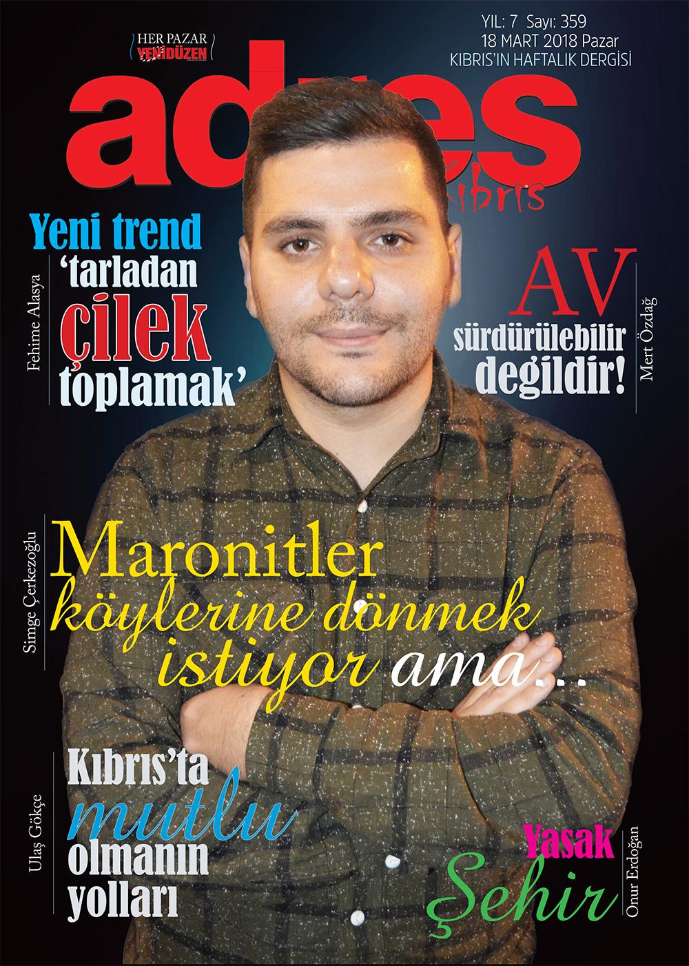 Adres Kıbrıs 359 Sayısı