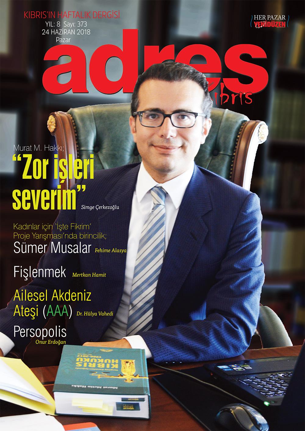 Adres Kıbrıs 373 Sayısı