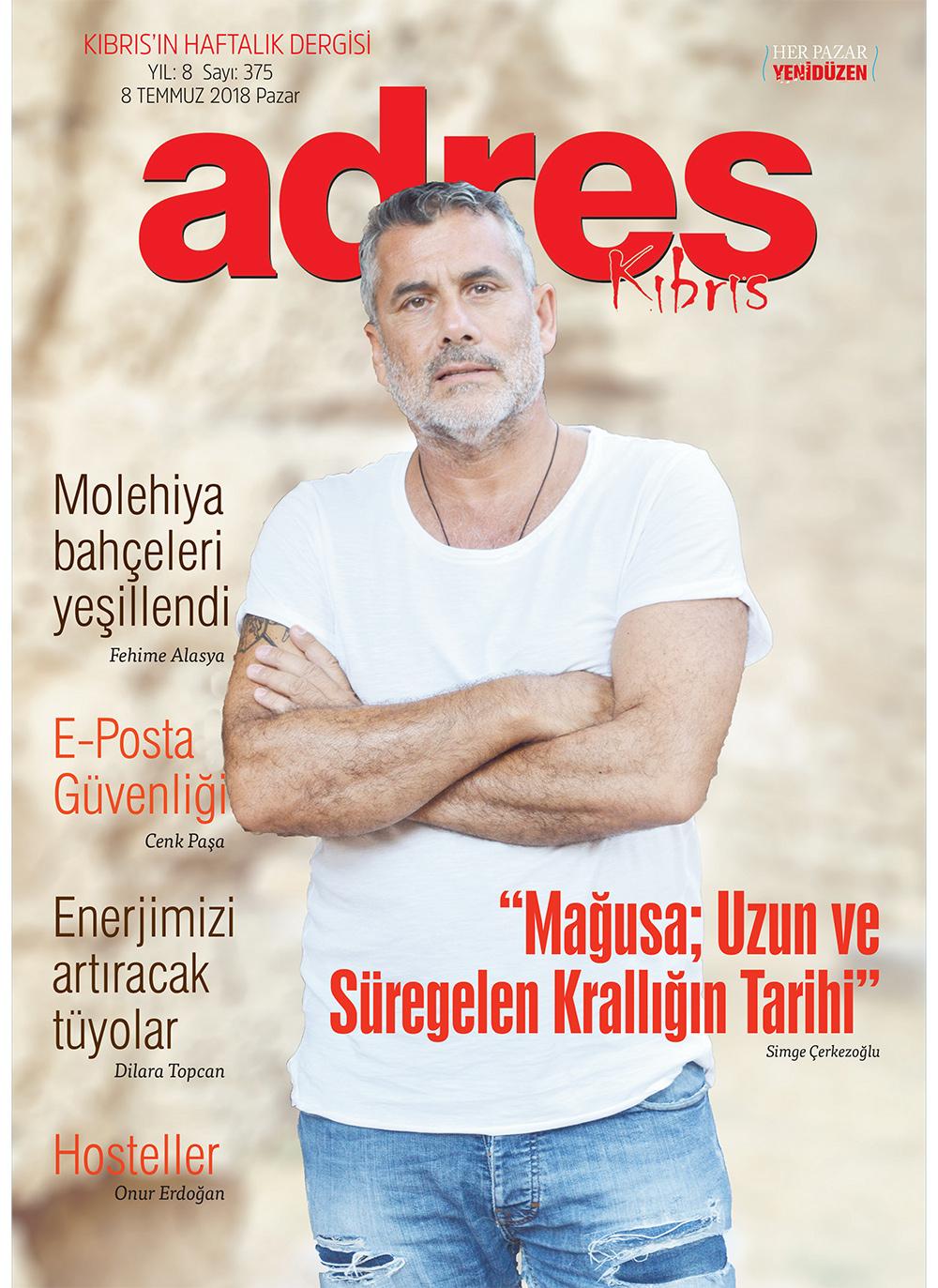 Adres Kıbrıs 375 Sayısı