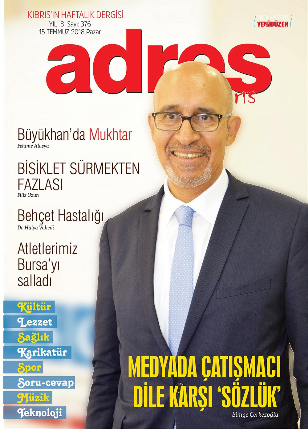 Adres Kıbrıs 376 Sayısı