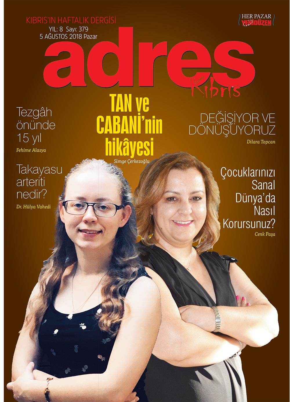 Adres Kıbrıs 379 Sayısı