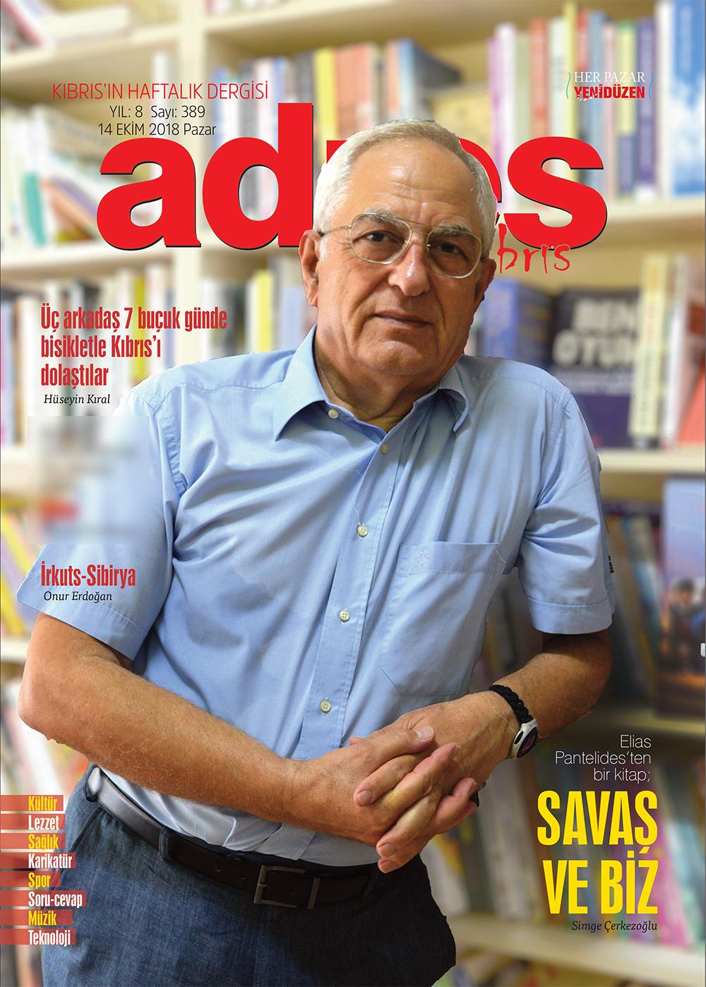 Adres Kıbrıs 389 Sayısı