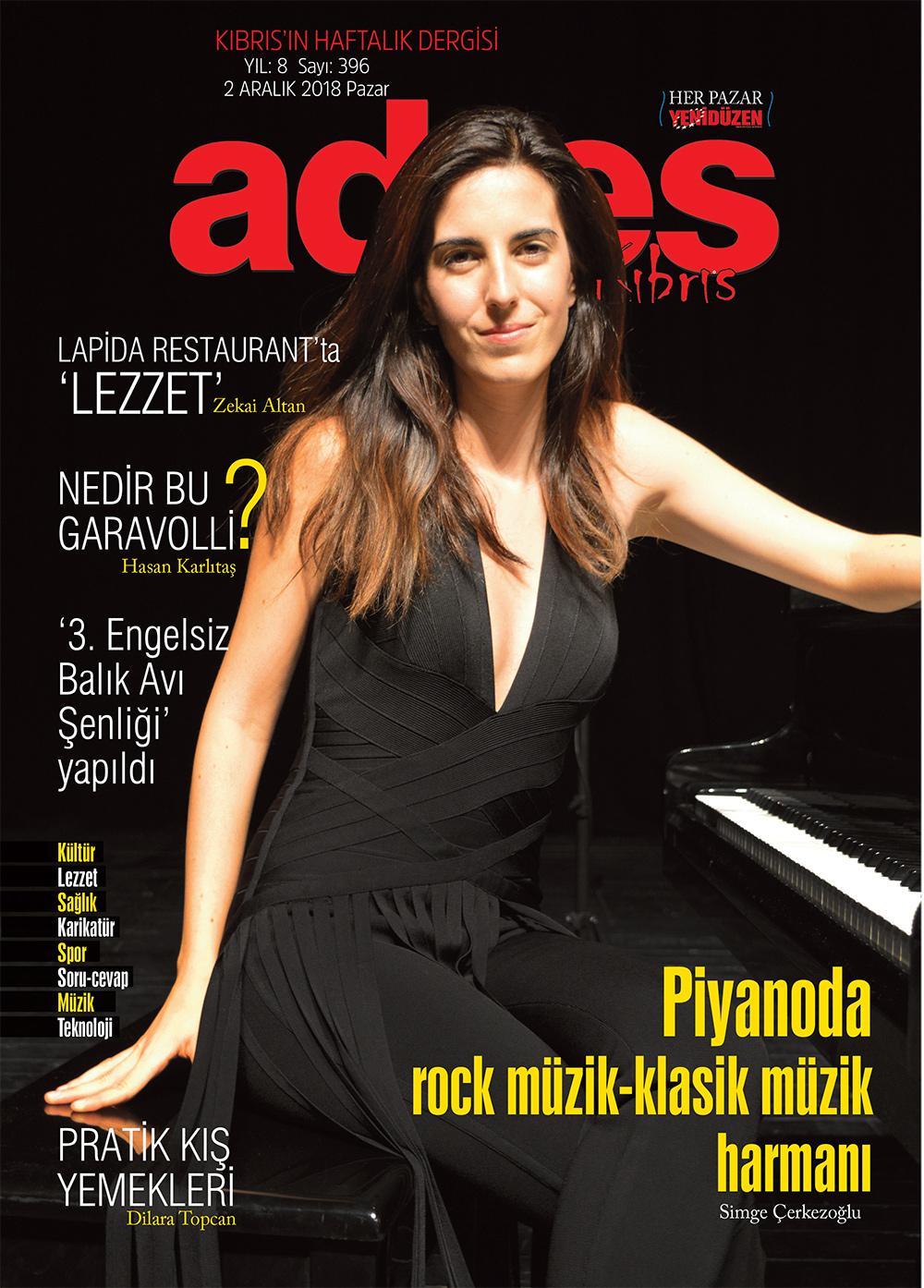 Adres Kıbrıs 396 Sayısı