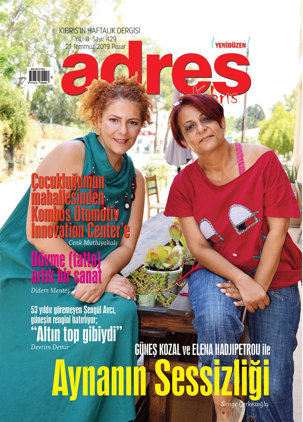 Adres Kıbrıs 429 Sayısı ISSN 2672-7560