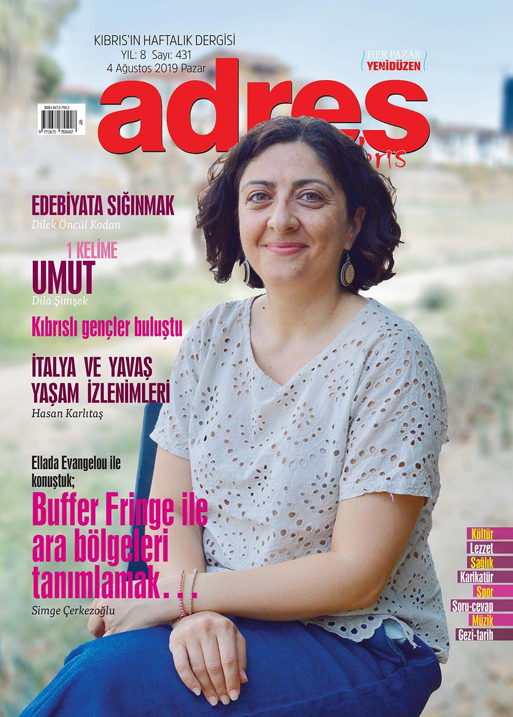 Adres Kıbrıs 431 Sayısı ISSN 2672-7560