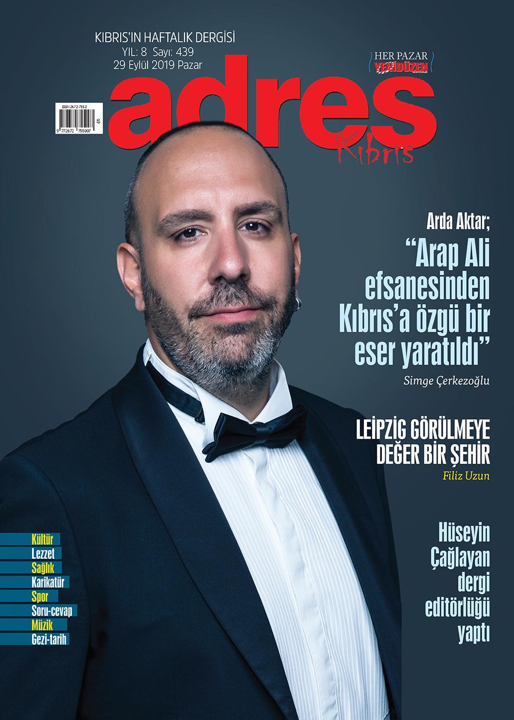 Adres Kıbrıs 439 Sayısı ISSN 2672-7560