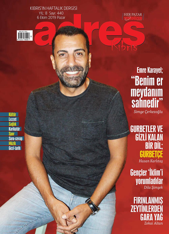 Adres Kıbrıs 440 Sayısı ISSN 2672-7560