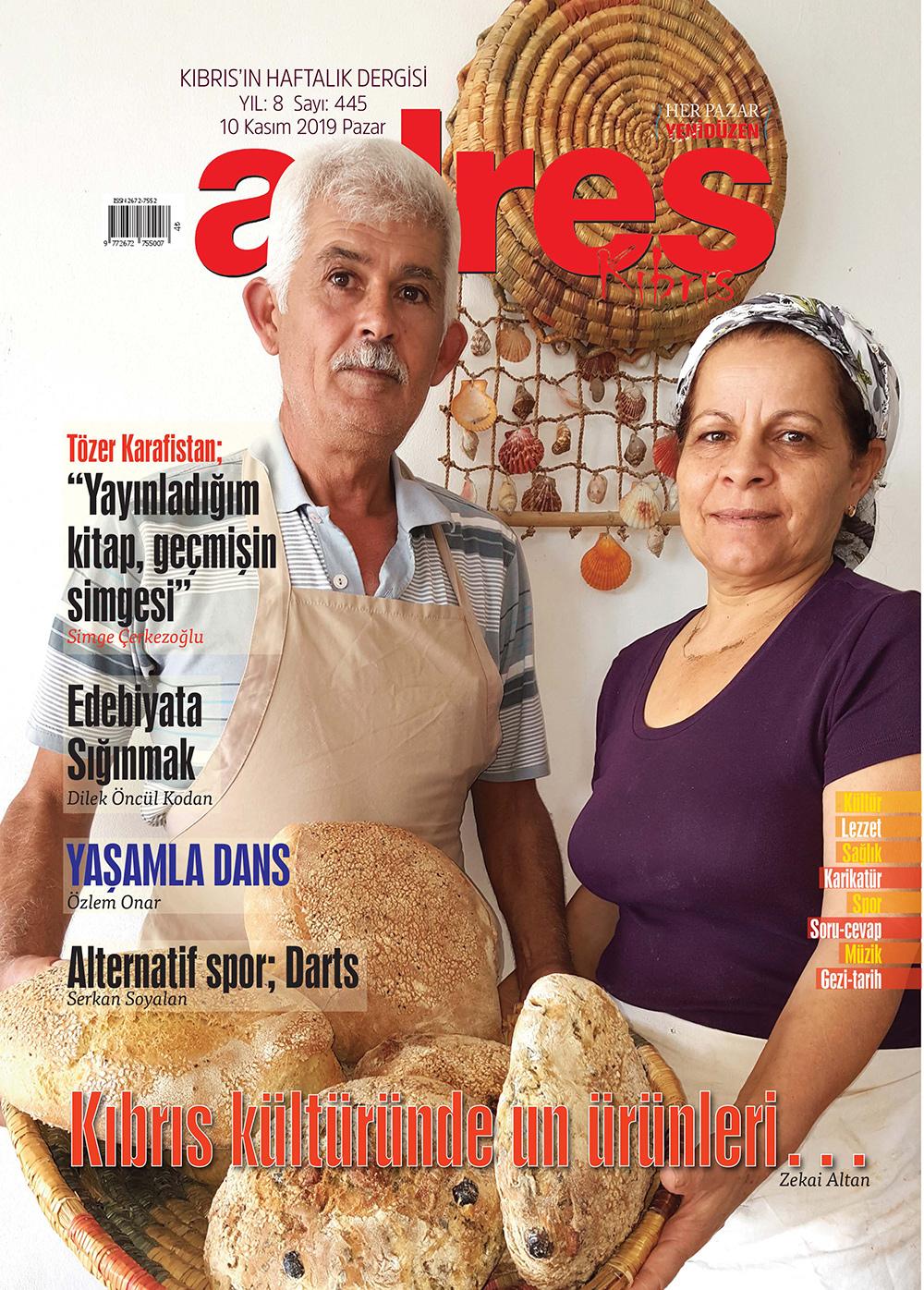 Adres Kıbrıs 445 Sayısı ISSN 2672-7560