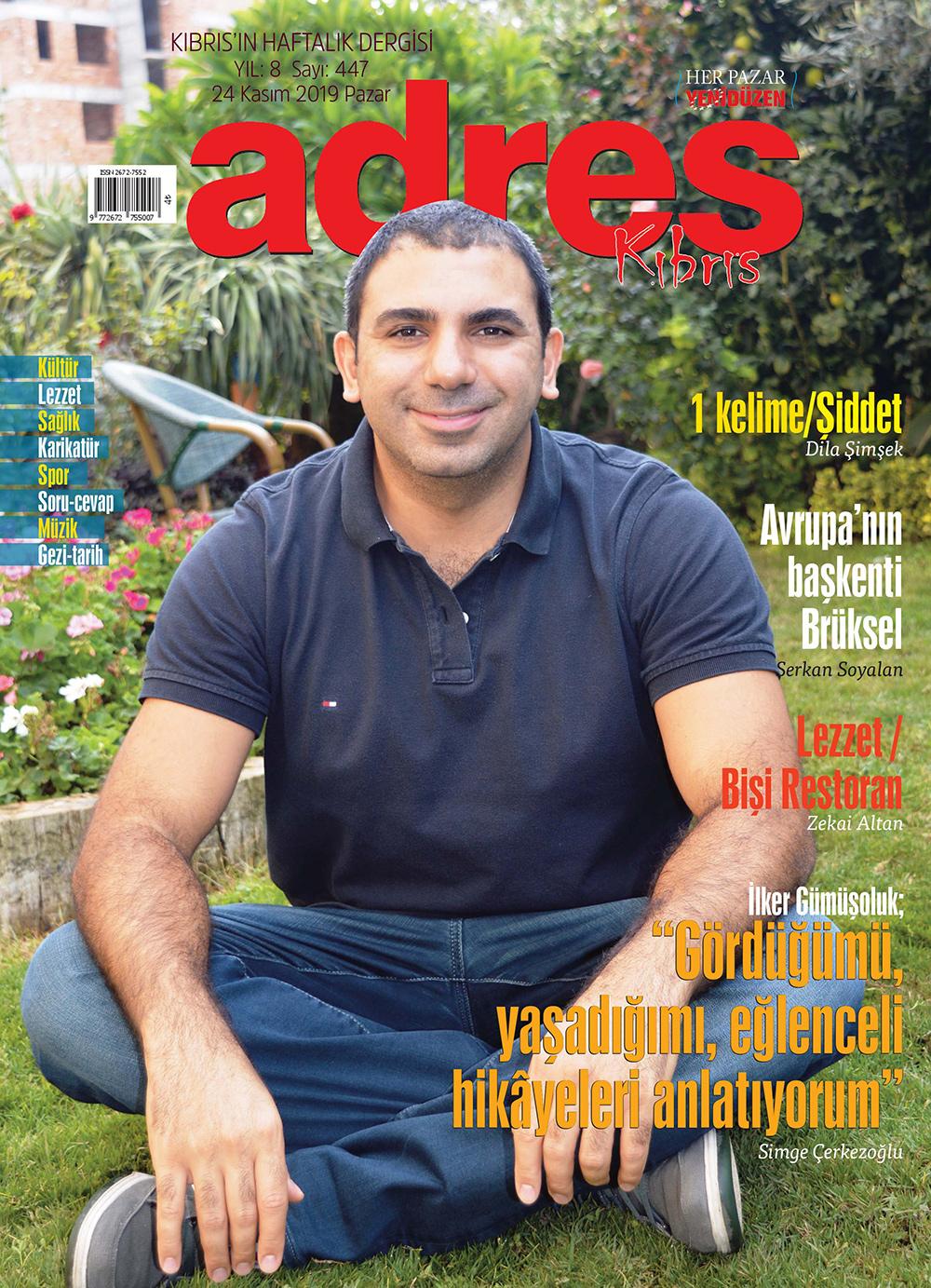 Adres Kıbrıs 447 Sayısı ISSN 2672-7560