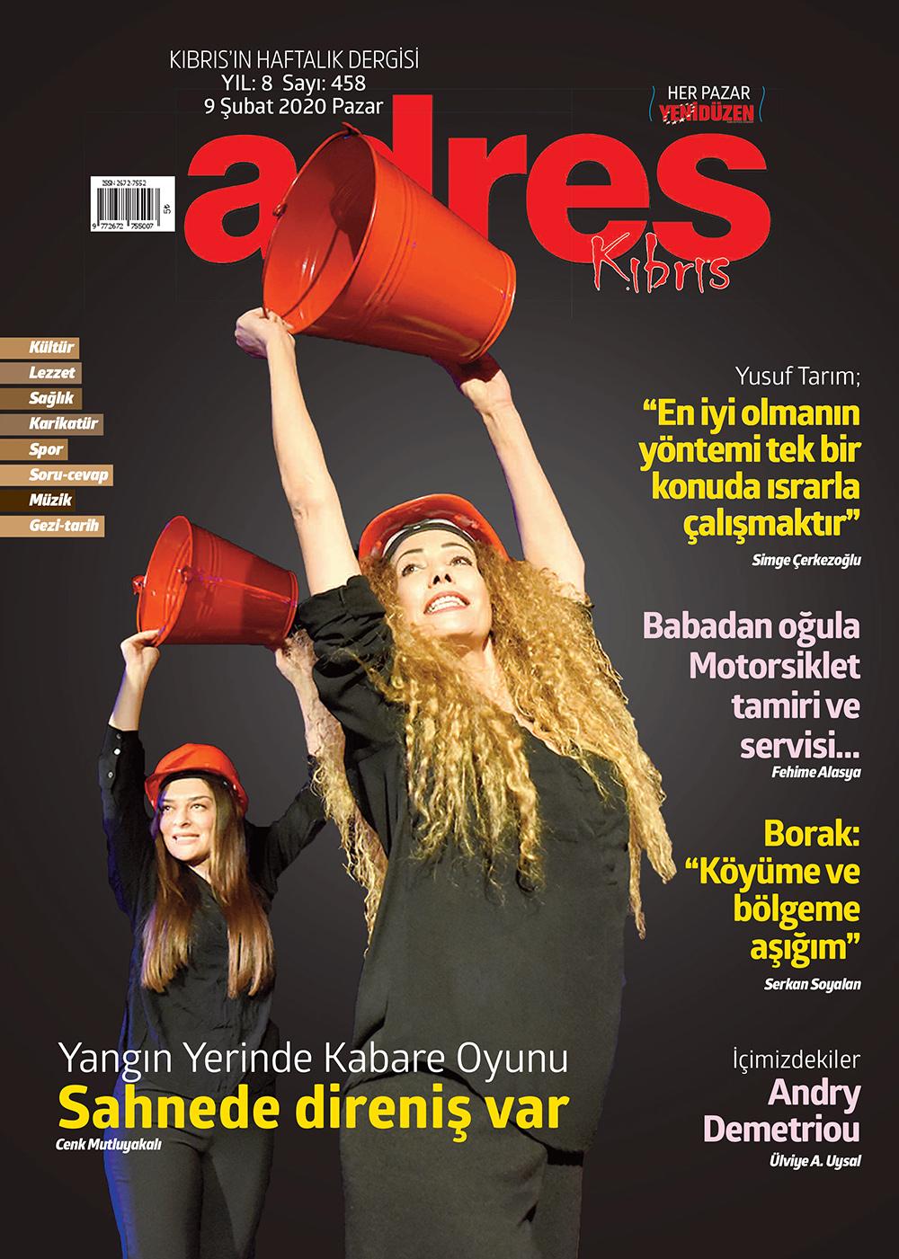 Adres Kıbrıs 458 Sayısı ISSN 2672-7560