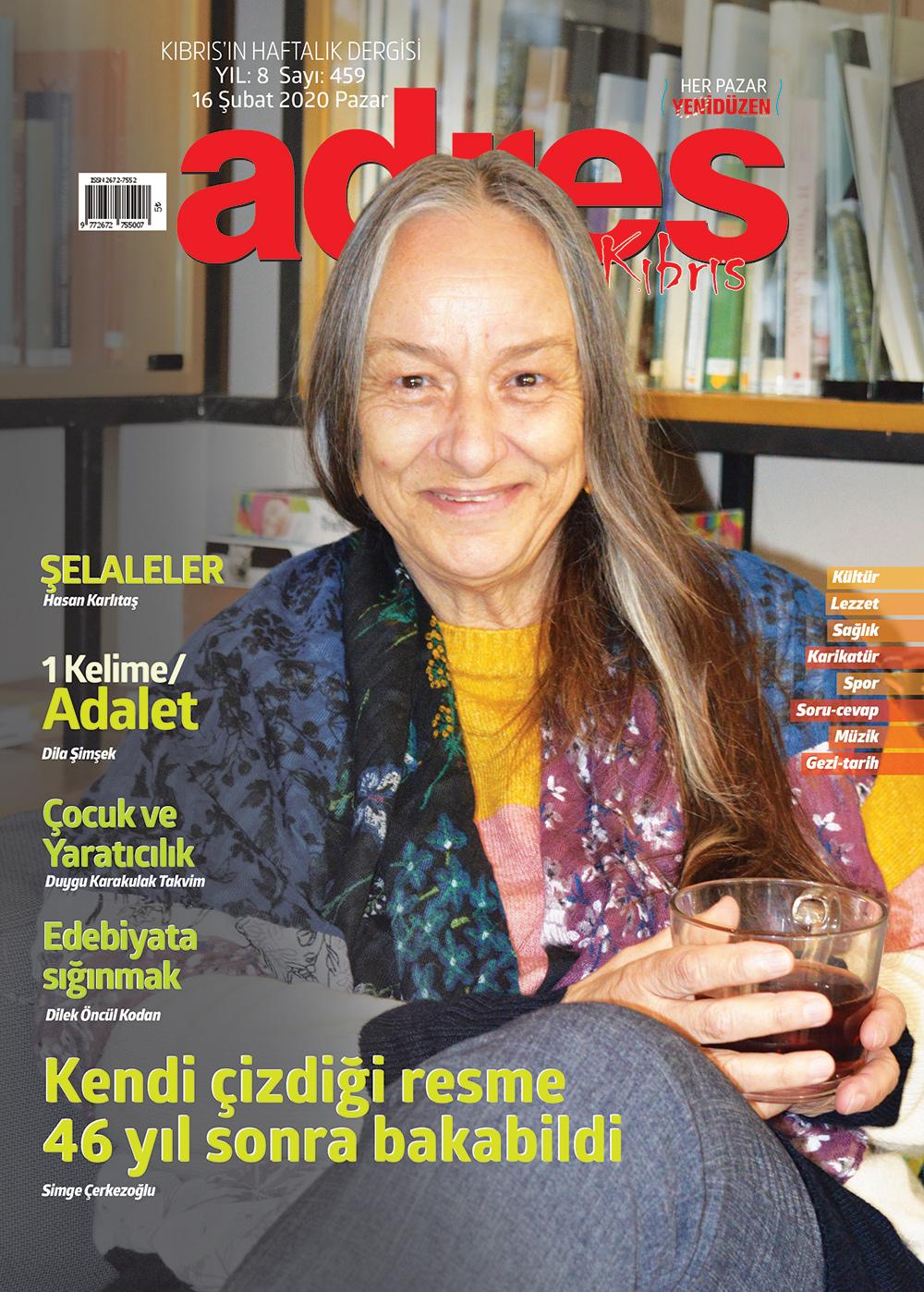 Adres Kıbrıs 459 Sayısı ISSN 2672-7560