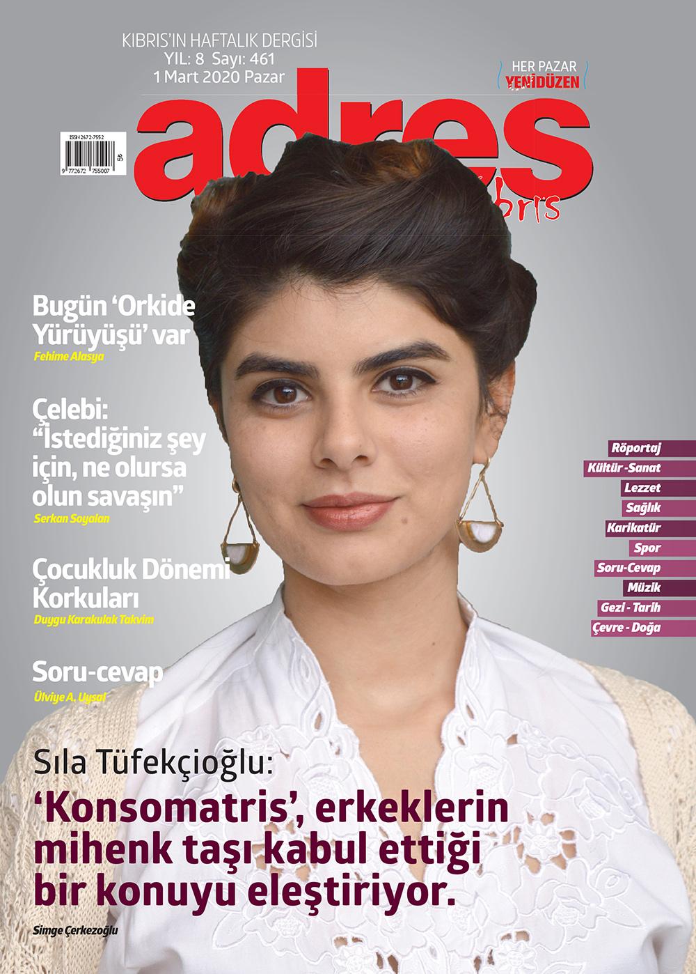 Adres Kıbrıs 461 Sayısı ISSN 2672-7560