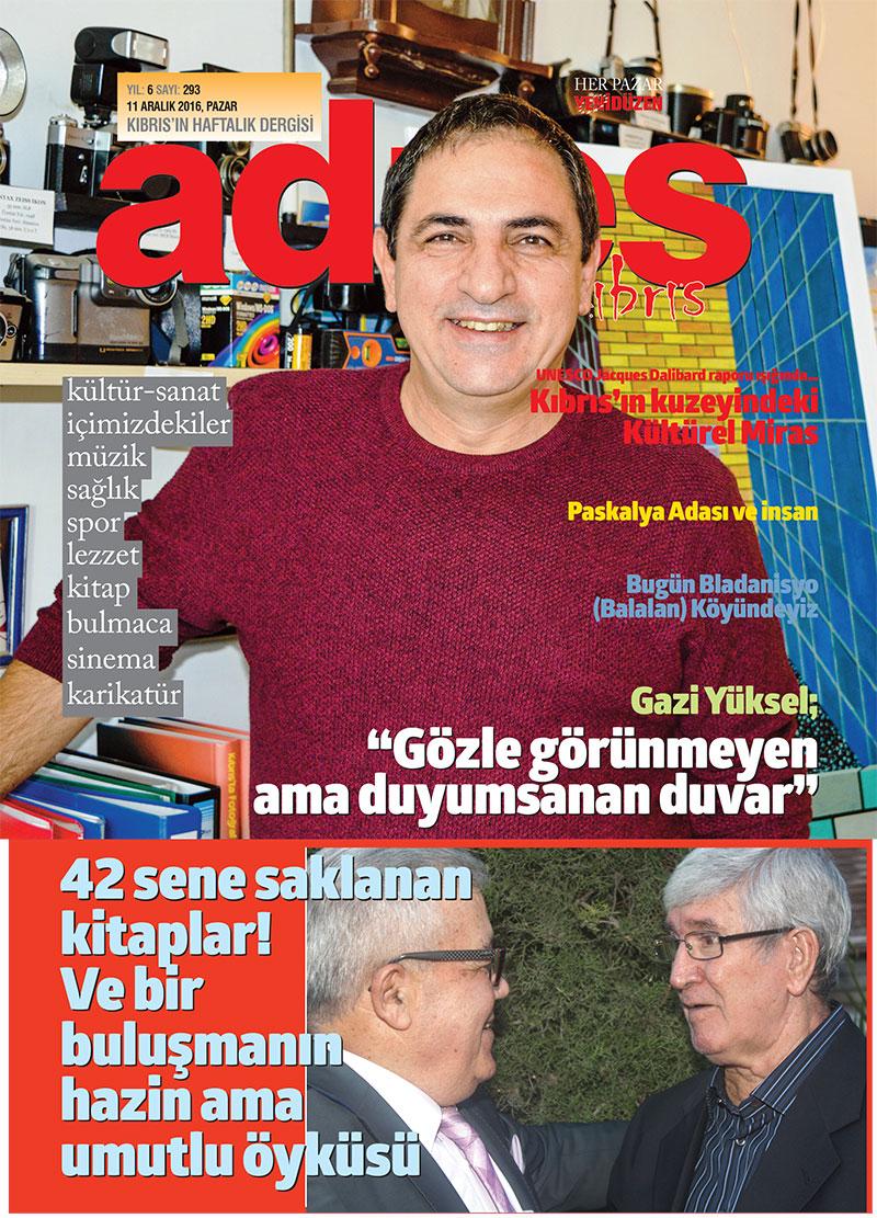 Adres Kıbrıs 293 Sayısı