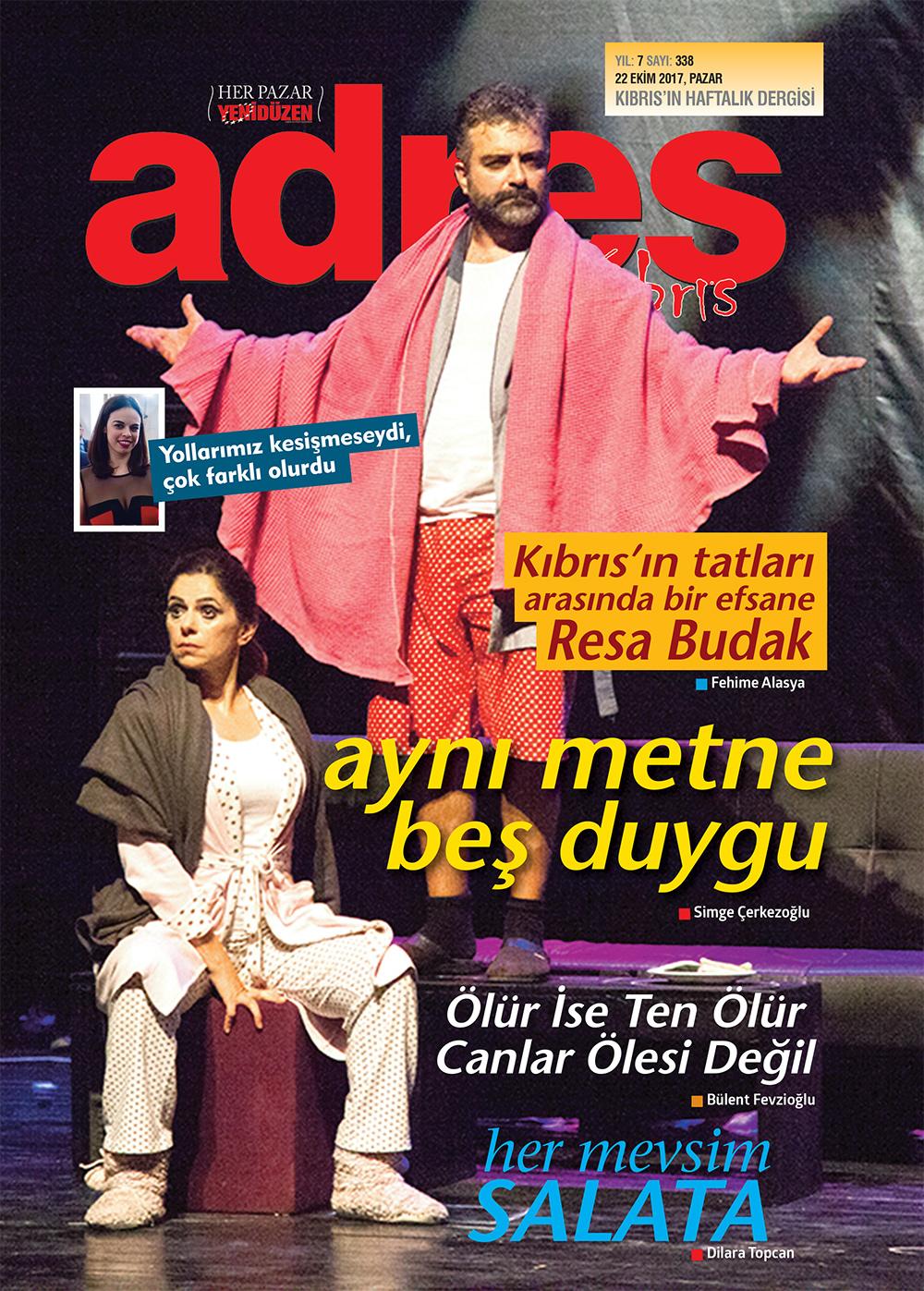 Adres Kıbrıs 338 Sayısı
