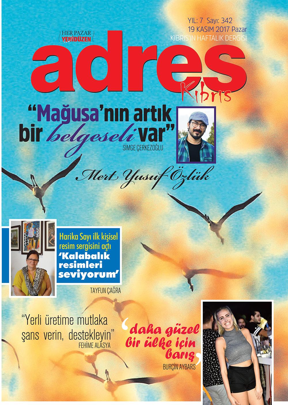 Adres Kıbrıs 342 Sayısı