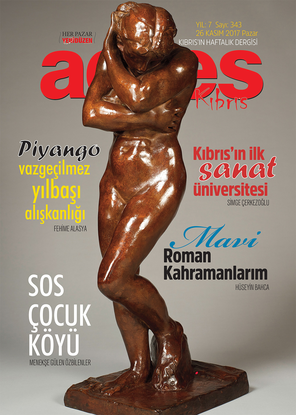 Adres Kıbrıs 343 Sayısı