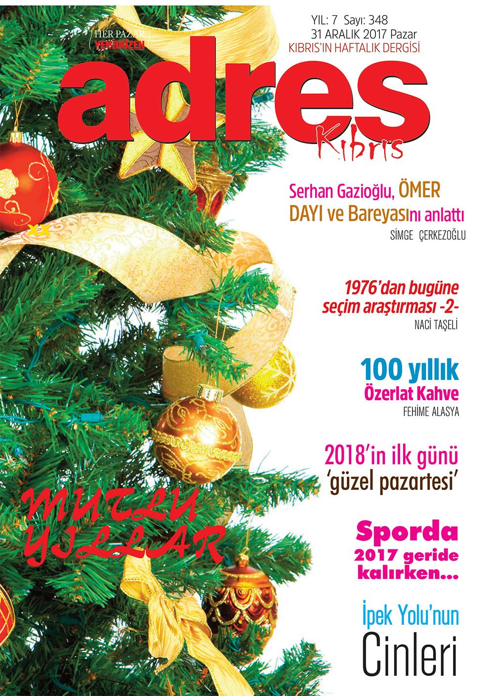 Adres Kıbrıs 348 Sayısı