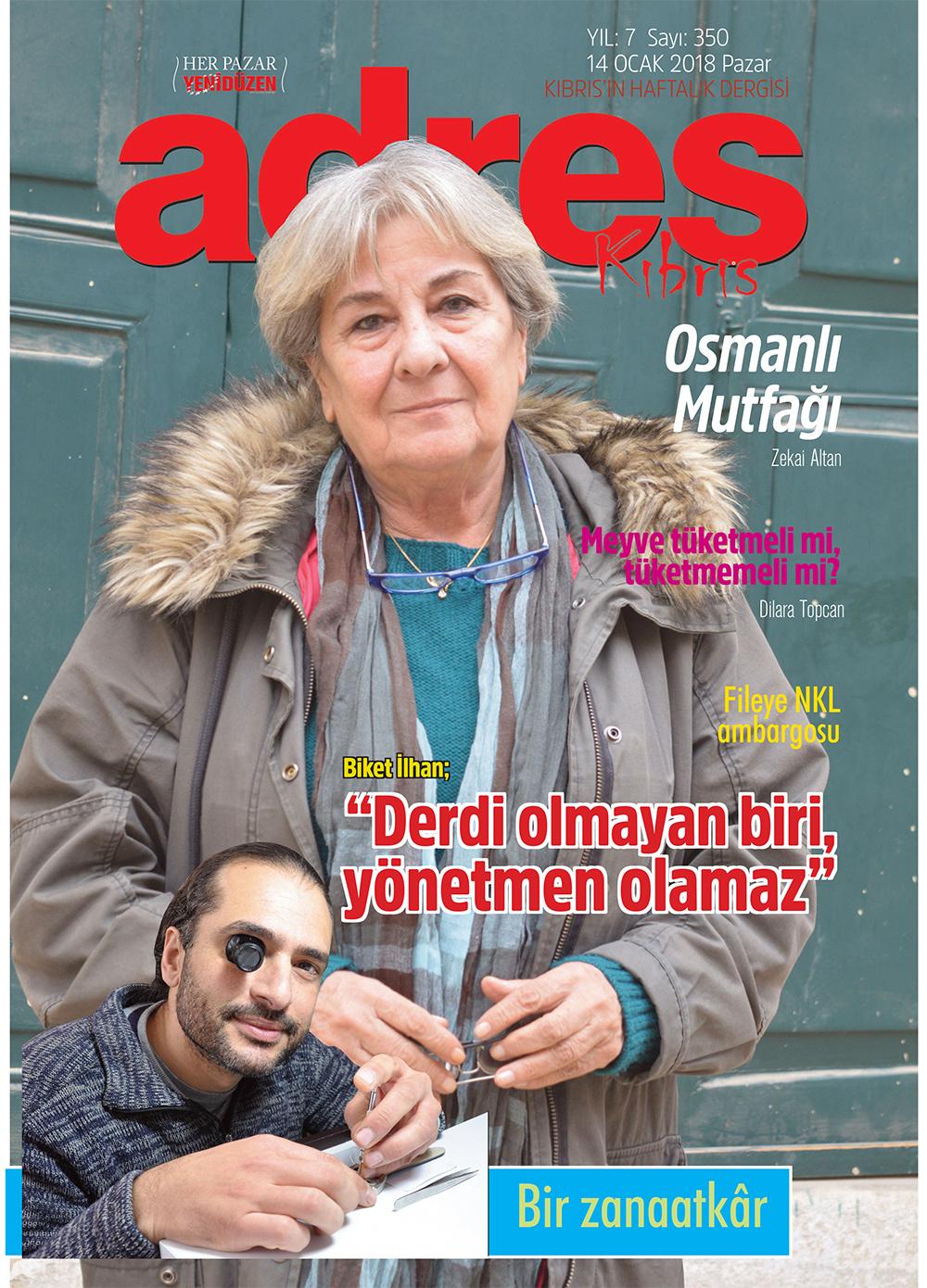 Adres Kıbrıs 350 Sayısı
