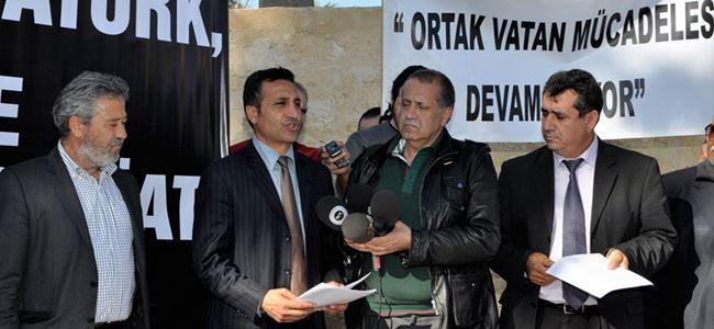 """""""Eroğlu barış düşmanlarını yönlendiriyor"""""""