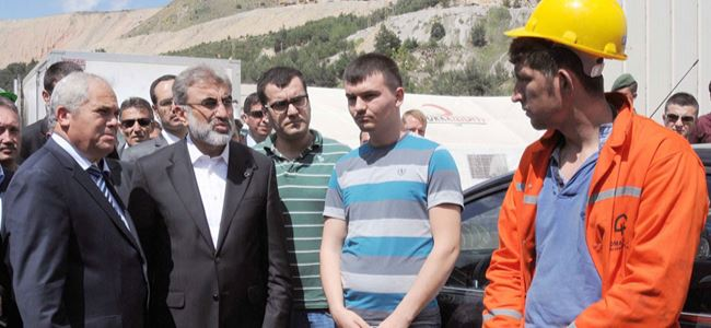 Başbakan Yorgancıoğlu ve heyeti SOMAda