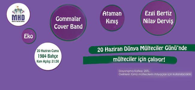 Müzisyenler Mülteciler için Çalıyor!
