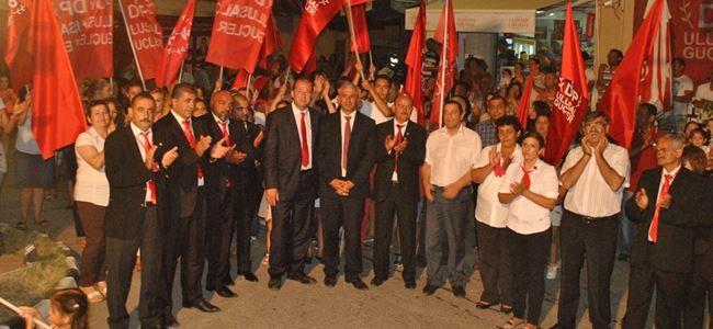 DP-UG Serdarlı'da miting düzenledi