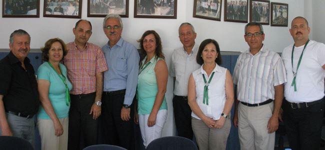 Osman Bican, BEL-SEN'i ziyaret etti