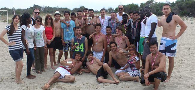 DAÜ plaj futbolunda buluştu