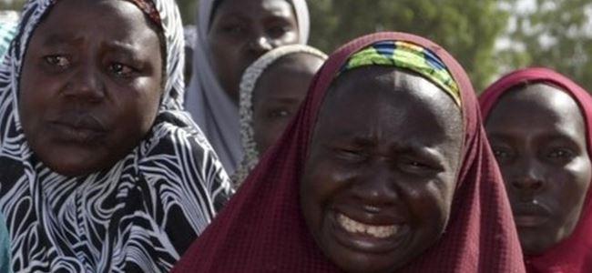 Köy baskınında 30 kişi öldürüldü, 60 kız kaçırıldı