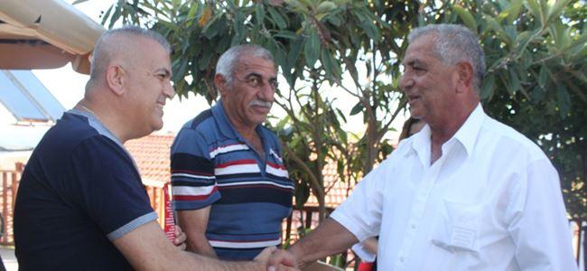 Öztoprak ve ekibi, Yedidalga'yı ziyaret etti