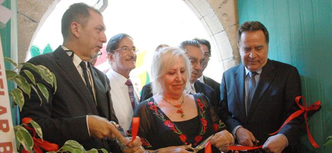 Arabahmet Kültür ve Sanat Evi açıldı