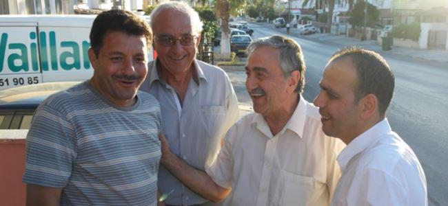 Harmancı ve ekibi Taşkınköy bölgesi'ni ziyaret etti