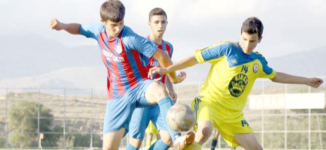 U15 Ligi'nde yarı final zamanı
