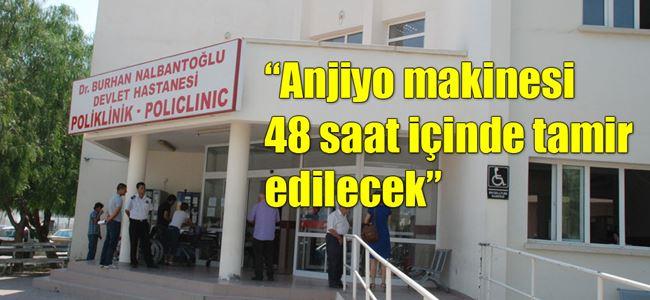 Başhekim Dr. Kamiloğlu açıklama yaptı