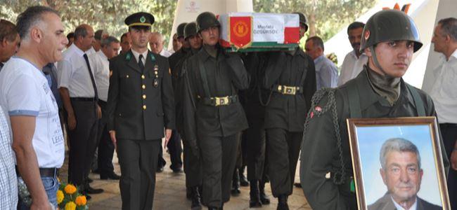 Özgürsoy askeri törenle uğurlandı
