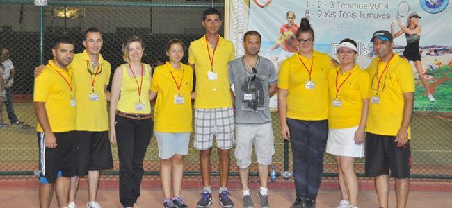 Tenis turnuvası tamamlandı