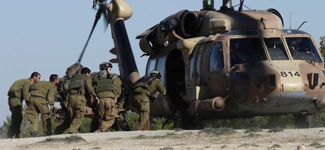 İsrail yine Gazzeye saldırdı 7 ölü, 5 yaralı