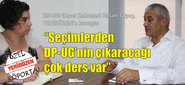 """""""Seçimlerden DP-UG'nin çıkaracağı çok ders var"""""""