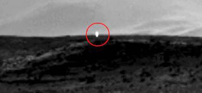 Marsta UFO heyecanı