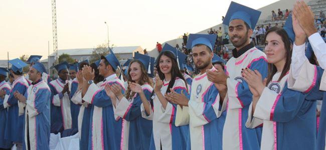 DAÜ mezuniyet töreni yapıldı